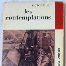 Libros de segunda mano: LES CONTEMPLATIONS - VÍCTOR HUGO - LIBRAIRIE LAROUSSE 1971 - VER DESCRIPCIÓN E INDICE. Lote 263053825