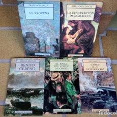 Libros de segunda mano: LOTE CINCO LIBROS EDITORIAL JUVENTUD. COLECCIÓN NARRATIVA BREVE.. Lote 263177005