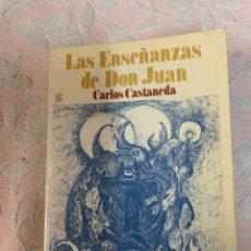 Libros de segunda mano: LAS ENSEÑANZAS DE DON JUAN, CARLOS CASTANEDA. Lote 263187135