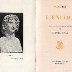 Libros de segunda mano: L'ENEIDA, VIRGILI. Lote 263193440
