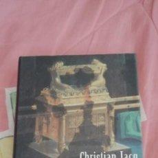 Libros de segunda mano: EL TEMPLO DEL REY SALOMÓN // CHRISTIAN JACQ. Lote 263576580
