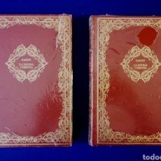 Libros de segunda mano: LA DIVINA COMEDIA - DANTE - DOS VOLUMENES PRECINTADOS. Lote 263585670