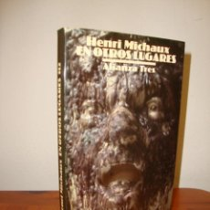 Libros de segunda mano: EN OTROS LUGARES - HENRI MICHAUX - ALIANZA TRES, RARO. Lote 263810375