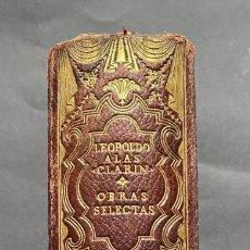 """Libros de segunda mano: OBRAS SELECTAS. ALAS, LEOPOLDO """"CLARÍN"""". Lote 263811130"""