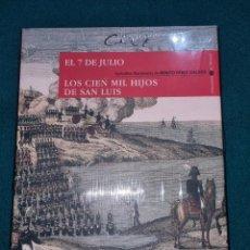 Libros de segunda mano: BENITO PEREZ GALDOS,EPISODIOS NACIONALES,,N°8,. Lote 264729089