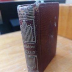 Libros de segunda mano: B. PÉREZ GALDOS. NAZARIN. AGUILAR. CRISOL N. 15. Lote 265479819