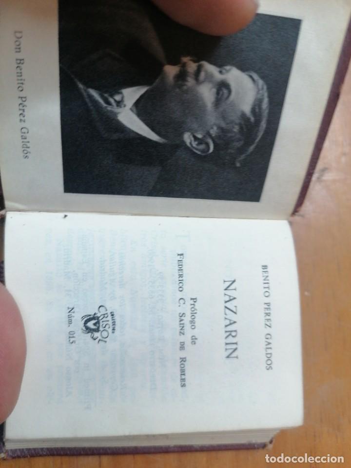 Libros de segunda mano: B. Pérez Galdos. Nazarin. Aguilar. Crisol n. 15 - Foto 2 - 265479819