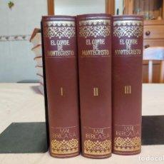 Libros de segunda mano: 3 TOMOS CONDE DE MONTECRISTO EDICIONES NAUTA 1970. Lote 265702504