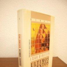 Livres d'occasion: ISAK DINESEN: ÚLTIMOS CUENTOS . PROL. JAVIER MARÍAS (DEBATE, 1990) TAPA DURA. RARA EDICIÓN.. Lote 266315408