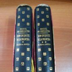 Libros de segunda mano: MIGUEL DE CERVANTES. DON QUIJOTE DE LA MANCHA. 2 TOMOS. PLAZA Y JANÉS EDITORES, 1961 PRIMERA EDICIÓN. Lote 267098099