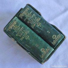 Libros de segunda mano: EL QUIJOTE DE LA MANCHA, CERVANTES, EN MIIATURA, EDICIONES CASTILLA 1947. Lote 268980754