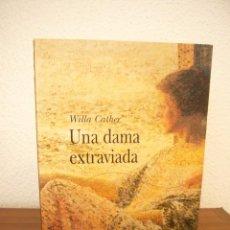 Libros de segunda mano: WILLA CATHER: UNA DAMA EXTRAVIADA (ALBA, CLÁSICA, 2002) MUY BUEN ESTADO. RARA EDICIÓN.. Lote 268980854