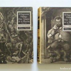 Libros de segunda mano: EL INGENIOSO HIDALGO DON QUIJOTE DE LA MANCHA. MIGUEL DE CERVANTES. BIBLIOTECA HISPANIA,1963. Lote 269041178