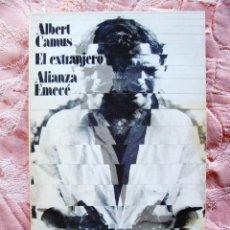 Libros de segunda mano: ALBERT CAMUS: EL EXTRANJERO - ALIANZA. Lote 269158968