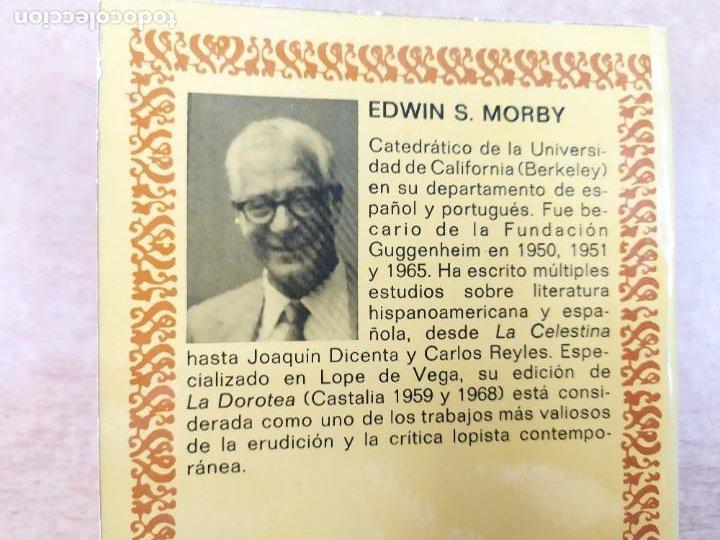 Libros de segunda mano: LA ARCADIA / LOPE DE VEGA / EDICIÓN DE EDWIN S. MORBY / 1975. CASTALIA - Foto 5 - 269245448