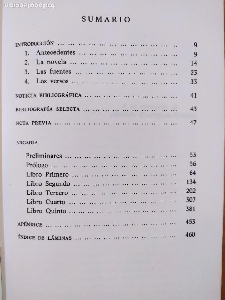 Libros de segunda mano: LA ARCADIA / LOPE DE VEGA / EDICIÓN DE EDWIN S. MORBY / 1975. CASTALIA - Foto 3 - 269245448