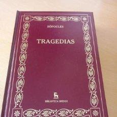 Libros de segunda mano: TRAGEDIAS. Lote 269251173