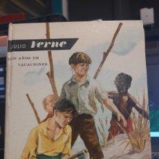 Libros de segunda mano: JULIO VERNE DOS AÑOS DE VACACIONES 23 EDITORIAL MOLINO. Lote 269615508