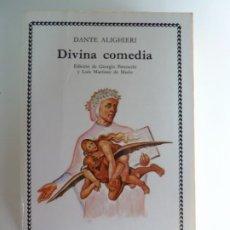 Libros de segunda mano: DIVINA COMEDIA. DANTE ALIGHIERI. CÁTEDRA 1999. Lote 269810023