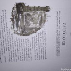Libros de segunda mano: EL INGENIOSO HIDALGO DON QUIJOTE DE LA MANCHA EN DOS TOMOS ILUSTRADO POR DANIEL URRABIETA. Lote 269833613