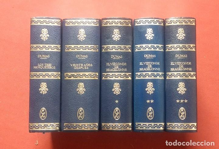 Libros de segunda mano: TRILOGIA de LOS TRES MOSQUETEROS - ALEJANDRO DUMAS - LAS NOVELAS DE DARTAGNAN - Foto 2 - 195336533