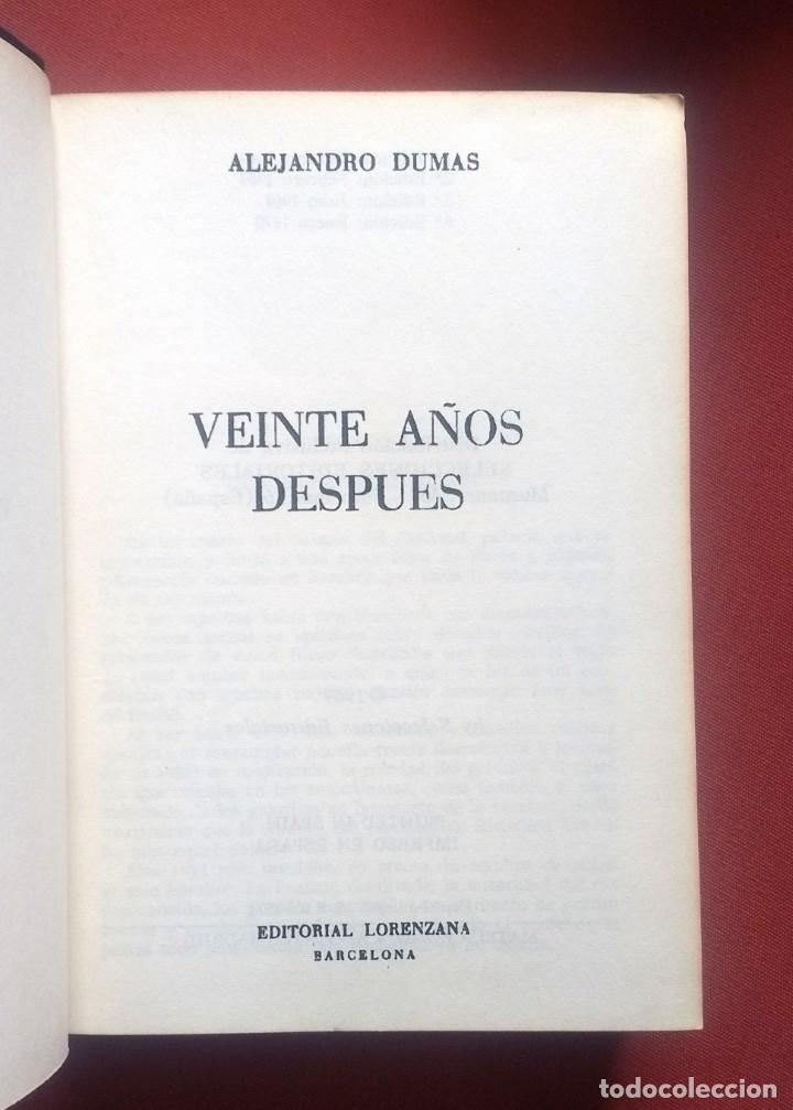 Libros de segunda mano: TRILOGIA de LOS TRES MOSQUETEROS - ALEJANDRO DUMAS - LAS NOVELAS DE DARTAGNAN - Foto 3 - 195336533