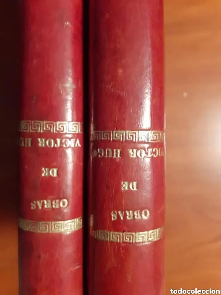 Libros de segunda mano: NOVELAS COMPLETAS DE VICTOR HUGO - 2 TOMOS. (VER FOTOS) - Foto 2 - 270176253
