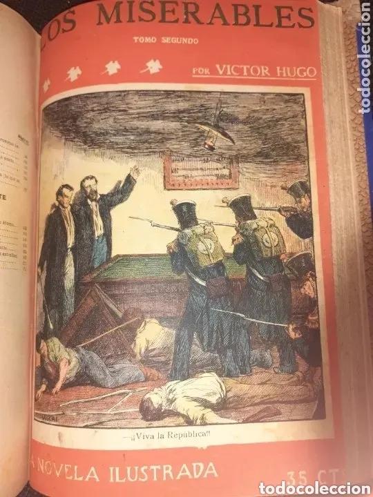 Libros de segunda mano: NOVELAS COMPLETAS DE VICTOR HUGO - 2 TOMOS. (VER FOTOS) - Foto 8 - 270176253