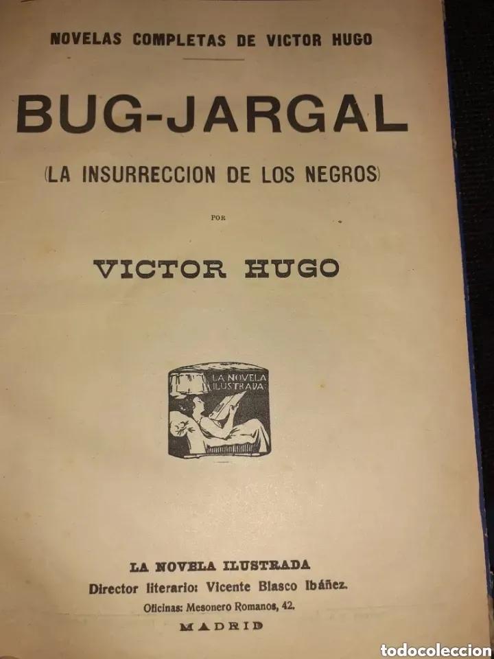 Libros de segunda mano: NOVELAS COMPLETAS DE VICTOR HUGO - 2 TOMOS. (VER FOTOS) - Foto 10 - 270176253