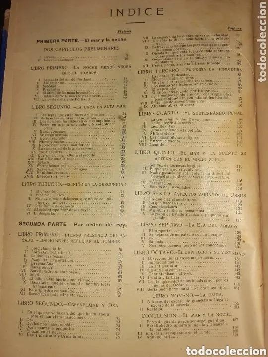 Libros de segunda mano: NOVELAS COMPLETAS DE VICTOR HUGO - 2 TOMOS. (VER FOTOS) - Foto 14 - 270176253