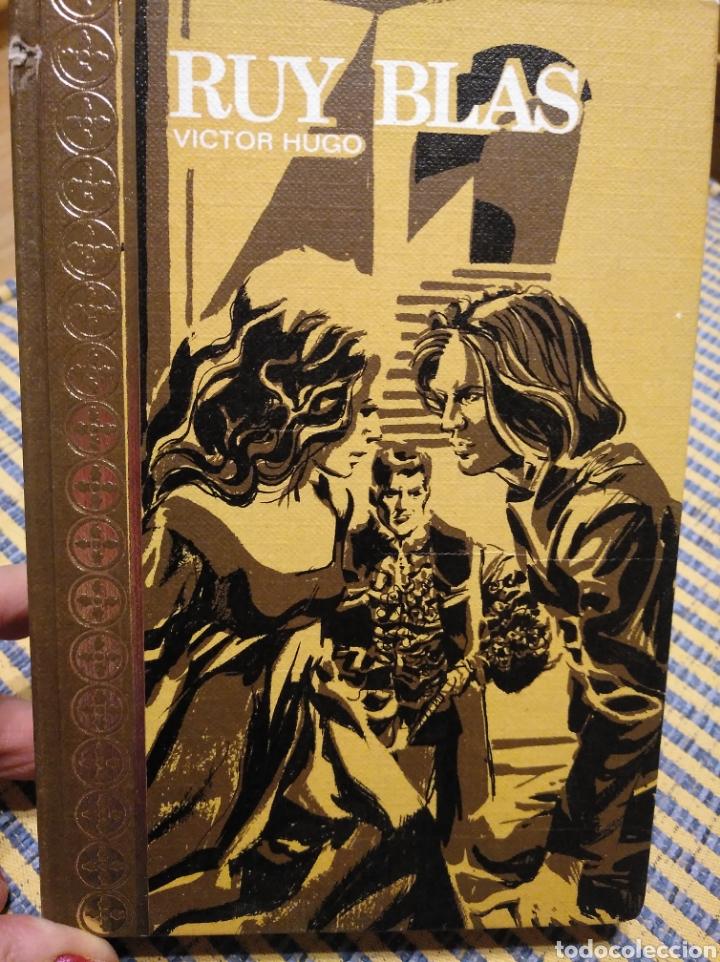 RUY BLAS. VÍCTOR HUGO.1970 (Libros de Segunda Mano (posteriores a 1936) - Literatura - Narrativa - Clásicos)