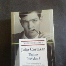 Libros de segunda mano: JULIO CORTÁZAR. OBRAS COMPLETAS. TOMO II. TEATRO, NOVELAS I. GALAXIA GUTEMBERG, 2004.PRIMERA EDICIÓN. Lote 270566588