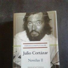 Libros de segunda mano: JULIO CORTÁZAR. OBRAS COMPLETAS. TOMO III. NOVELAS II. GALAXIA GUTEMBERG, 2004.PRIMERA EDICIÓN. Lote 270566988