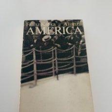 Libros de segunda mano: AMÉRICA. KAFKA, FRANZ. ED. ALIANZA. MADRID 1971. Lote 271052648