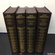 Libros de segunda mano: LOTE 4 TOMOS TAPA DURA - GRANDES CLÁSICOS UNIVERSALES. CIRCULO DE LECTORES. 1982. Lote 271248478
