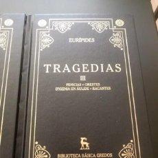 Libros de segunda mano: EURÍPIDES. Lote 272340928