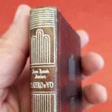Libros de segunda mano: CRISOLÍN. PLATERO Y YO. JUAN RAMÓN JIMÉNEZ. AÑO: 1953. NÚM. 07. BUEN ESTADO.. Lote 272747803