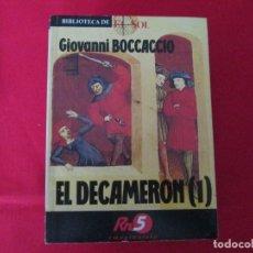 Libros de segunda mano: EL DECAMERON SELECCION 2 LIBROS. Lote 273176933