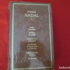 Libros de segunda mano: PREMIOS NADAL TOMO 4. Lote 274879628