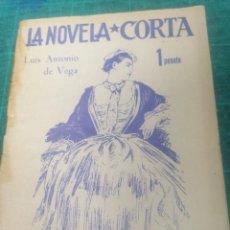 Libros de segunda mano: L. ANTONIO DE VEGA. PIRINEO ROMÁNTICO. LA NOVELA CORTA. Lote 276298518