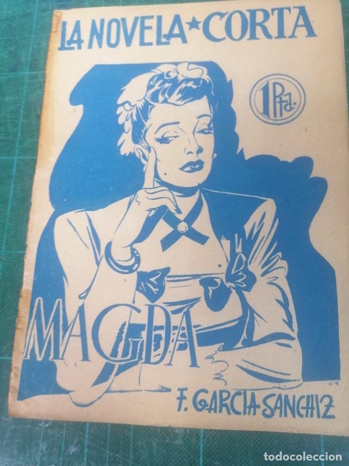 F. GARCÍA SÁNCHEZ. MAGDA. LA NOVELA CORTA (Libros de Segunda Mano (posteriores a 1936) - Literatura - Narrativa - Clásicos)
