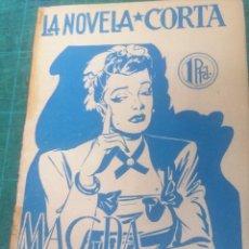 Libros de segunda mano: F. GARCÍA SÁNCHEZ. MAGDA. LA NOVELA CORTA. Lote 276298613