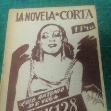 Libros de segunda mano: LUIS ANTONIO DE VEGA. IK. 128. LA NOVELA CORTA. Lote 276299373
