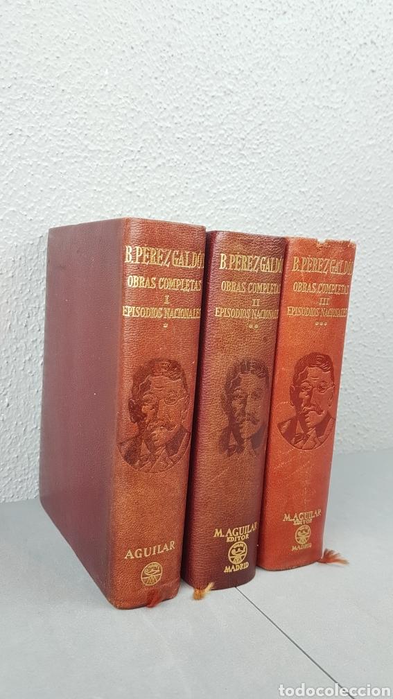 Libros de segunda mano: Benito Pérez Galdós - Obras Completas - Los Episodios Nacionales (completos) - Editorial Aguilar - Foto 2 - 276955148