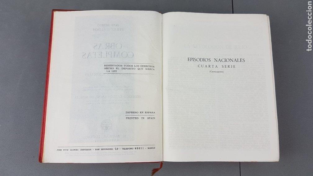 Libros de segunda mano: Benito Pérez Galdós - Obras Completas - Los Episodios Nacionales (completos) - Editorial Aguilar - Foto 8 - 276955148