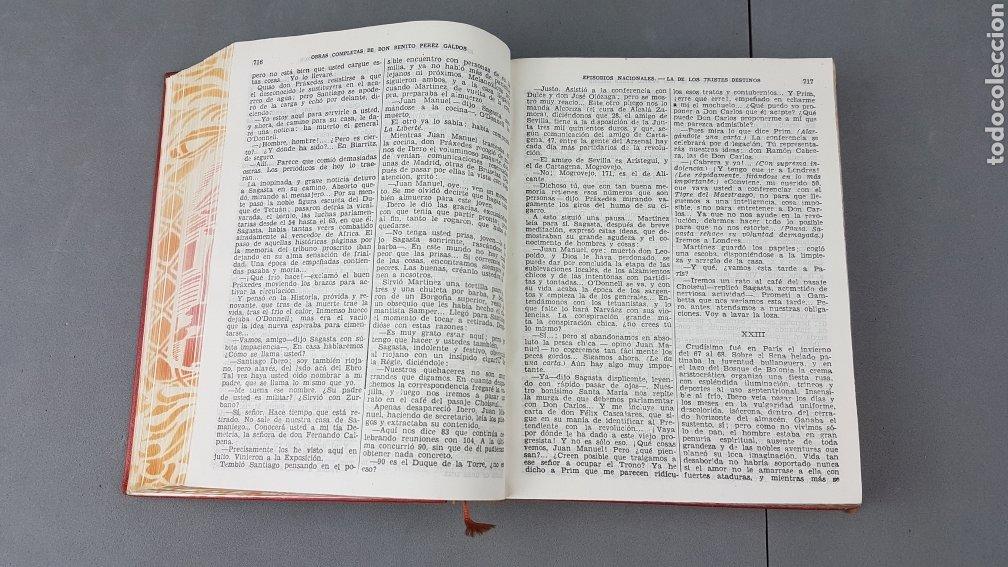 Libros de segunda mano: Benito Pérez Galdós - Obras Completas - Los Episodios Nacionales (completos) - Editorial Aguilar - Foto 10 - 276955148