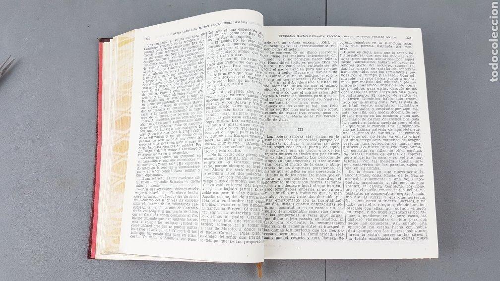 Libros de segunda mano: Benito Pérez Galdós - Obras Completas - Los Episodios Nacionales (completos) - Editorial Aguilar - Foto 12 - 276955148