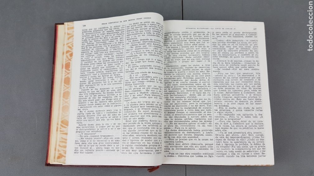 Libros de segunda mano: Benito Pérez Galdós - Obras Completas - Los Episodios Nacionales (completos) - Editorial Aguilar - Foto 15 - 276955148