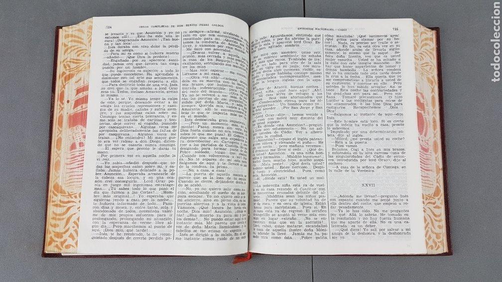 Libros de segunda mano: Benito Pérez Galdós - Obras Completas - Los Episodios Nacionales (completos) - Editorial Aguilar - Foto 16 - 276955148