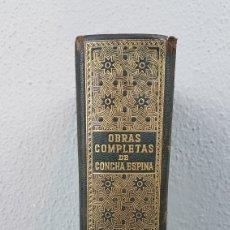 Libros de segunda mano: OBRAS COMPLETAS DE CONCHA ESPINA.EDICIONES FAX, MADRID. PRIMERA EDICIÓN, 1944. Lote 276957273